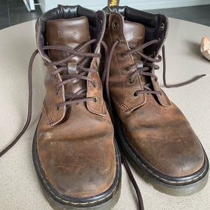 Brown doc martens fits size 11